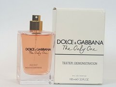 The Only One 100ml Dolce & Gabbana parfum tester